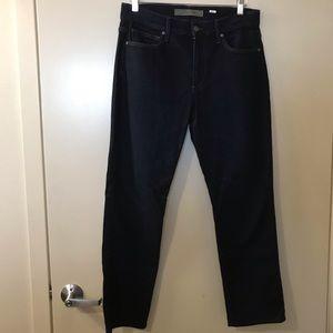Joe's Jeans   Dark Wash High Rise Straight Jeans
